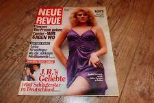 Neue Revue Nr.6 1983 Dallas Audrey Landers/Louis de Funes/Onkel Lou