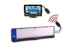 """Einparkhilfe & Rückfahrkamera mit Nummernschildhalter Sensoren Funk Monitor 4.3"""""""