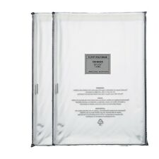 200 10x13 Suffocation Warning Clear Poly Self Seal Bags 15 Mil