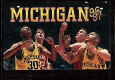 Schedule College Basketball Michigan Wolverines - 1996 1997 - Nike Maceo Baston