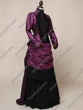 Victorian Edwardian Masquerade Bustle Dress Steampunk Theater Vampire N 139 XXL