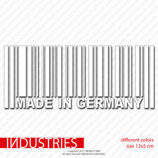 made in germany 12x5 Aufkleber Sticker Auto |Fun Kult Tuning R RS S