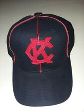 Bigboy Headgear Kansas City Monarchs Blue Red Logo BaseBall Cap Negro League NWT