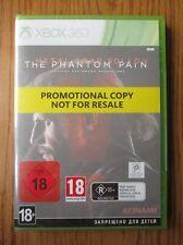 Metal GEAR SOLID V The phantom pain Promo-Xbox 360 ~ NEU & VERSIEGELT (Full Game)