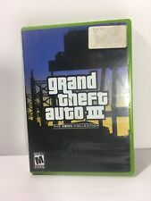 Grand Theft Auto III GTA 3 The Xbox Collection With Map
