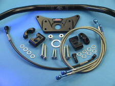 ABM Superbike Lenker Umbau - Kit für YAMAHA FJ 1100 / FJ 1200 - schwarz eloxiert