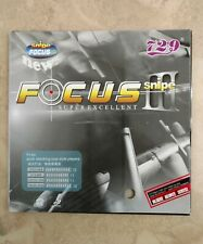 729 Focus III Snipe  table tennis rubber with 2.1 sponge in red