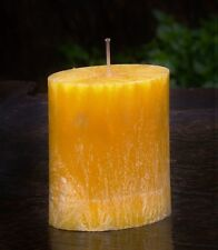 90hr Citronella Coconut Mango Triple Scented Oval Candle Bug & Insect Repellent
