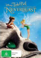 Tinker Bell - Legend of the NeverBeast (DVD, 2015) NEW R4 TinkerBell