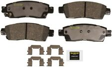 Disc Brake Pad Set-Total Solution Ceramic Brake Pads Rear Monroe CX1507