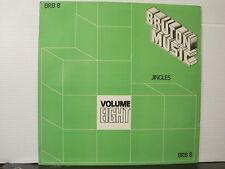 Bruton Vol 8 -Jingles-Kevin Peek/Steve Gray etc..Vinyl Lp- Frwe UK Post