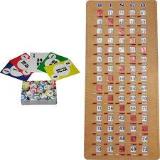 BINGO Kit - Calling Cards (deck of 75) and Masterboard Shutter/Slide Card