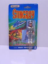 MATCHBOX STINGRAY 1992 - CAPTAIN TROY TEMPEST ACTION FIGURE - MOC