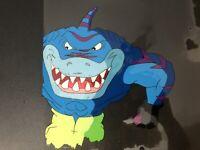 "Rare Street Sharks Original Production Animation CelBobby ""STREEX"" Bolton OS"