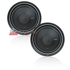 "(2) Rockford Fosgate P1S2-10 SVC 2-Ohm Subs 10"" Punch 1,000W Car Subwoofers New"