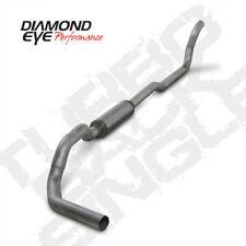 """Diamond Eye K4211A 4""""  Turbo Back Exhaust 89-93 Dodge Ram 5.9L Diesel 4WD"""