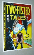 Rare vintage EC Comics Two-Fisted Tales 18 comic book cover art poster: 1970's