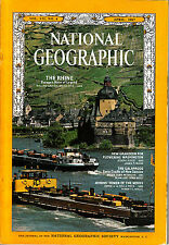 NATIONAL GEOGRAPHIC APR 1967 RHINE WASHINGTON GALAPAGOS ATHENS TOWER OF WINDS