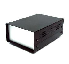 6pc All Aluminum Box Enclosure WD-330 20x13.8x7.3cm LxWxH Powder Coating Black