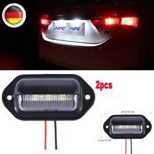 2pcs LED-Kennzeichenbeleuchtung-Kennzeichenleuchte-Für -4-5-Passat Universal