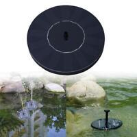 Solar Power Bird Bath Water Fountain Pump Submersible For Pool Garden Aquarium