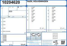 Genuine AJUSA OEM Full Engine Rebuild Gasket Set exc. Head & Exhaust [51045400]