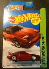 Hot Wheels Custom Super 96 Nissan 180SX Type X w Real Riders
