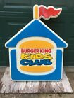 Burger King Kids Club Sign Lighted