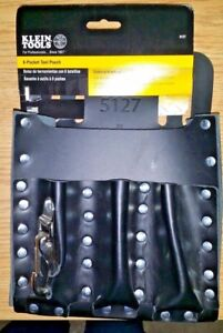 KLEIN 5127 6 POCKET TOOL POUCH NEW --- FREE SHIPPING OFFER SEE BELOW ---
