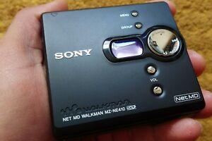 Sony MZ-NE410/M High Speed Net MD Walkman Recorder