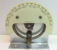 MONEY HICKS 1057 TUNING DIAL 3:1 REDUCTION DRIVE 1930's TUBE VALVE CRYSTAL RADIO