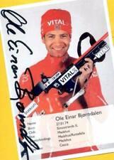 Ole Einar Björndalen (3) Autograph Picture Large Format 15 x 21 + Ski AK FREE