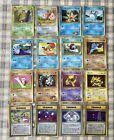 16 Japanese Vending Series Pokemon Cards Glossy Promo Corocoro