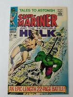 Tales to Astonish #100 Sub-Mariner vs. Hulk 1968 Marvel Comics
