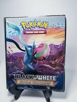 2011 Pokemon Black & White Noble Victories Binder Ultra Pro 10 Page, 4 Pocket