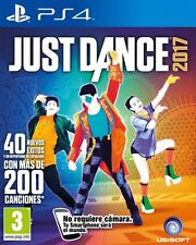 JUST DANCE 2017 17  TEXTOS EN CASTELLANO  NUEVO PRECINTADO PS4