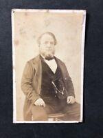 Victorian Carte De Visite CDV: Hicks: Ryde Isle Of Wight: Grand Gentleman