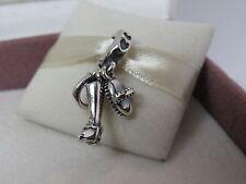 New Retired w/Box Pandora Equestrian Trinity Charm #791265 Horse Dressage