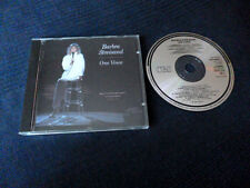 CD Barbra Streisand One Voice Live, Malibu California 1986   Barry Gibb Duet