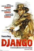 1966 DJANGO VINTAGE WESTERN MOVIE POSTER PRINT STYLE A 36x24 9 MIL PAPER