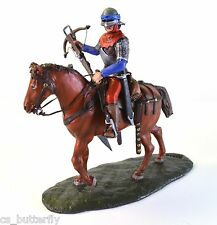 Equestrian Arbalester Knight 1/32 Toy soldier Handmade Painted