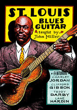 SAINT LOUIS BLUES GUITAR Video Lesson DVD with John Miller Includes PDF and TABs