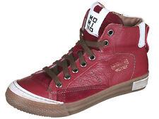 Momino 2123M coole winter Sneakers Chucks Leder Lammfell Unisex 31-40 Neu