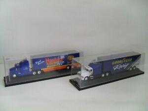 RACING CHAMPIONS GOOD YEAR & HARDEE'S RACING TRACTOR TRAILERS