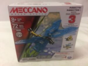 Meccano  Insects 16205  3 Model Set - Sealed