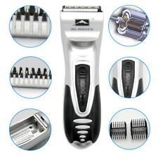 Silver Professiona Men's Shaver Razor Beard Hair Clipper Trimmer Grooming DI