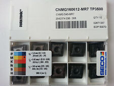 10 Seco  Wendeplatten TNMG 220408-M5,TP3500 NEU inkl.19% MwSt.