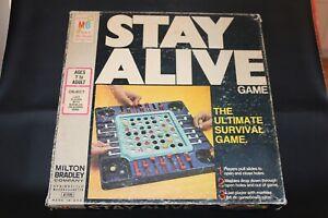 Vintage Stay Alive Game The Ultimate Survival Game Milton Bradley 1971