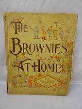 Brownies at Home Children's Fairy Tale & Fantasy Elves Pixies Antiquarian 1895