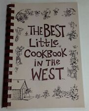 THE BEST LITTLE COOKBOOK IN THE WEST RECIPIES FROM WEDDING BBQ TO PET FOOD -G4
